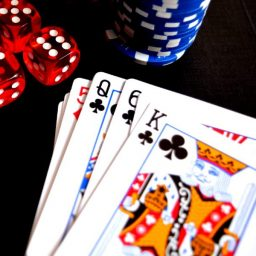 Gambling, Playing Cards, Poker on Diwali