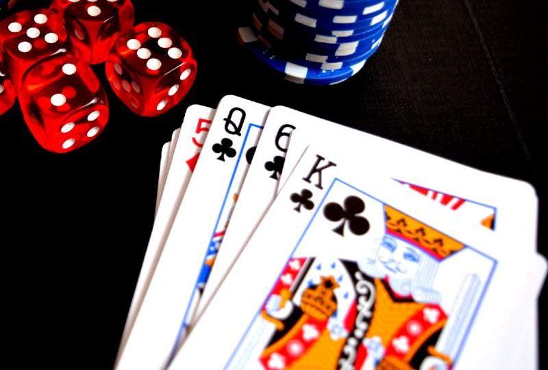 Gambling, Playing Cards, Poker on Diwali